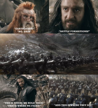The Hobbit. Three-Hundred Dwarves by Through-the-movies