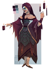 [open] Adopt -  Witch 15 by fionadoesadopts