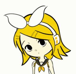 Kagamine Rin gif by pequechip