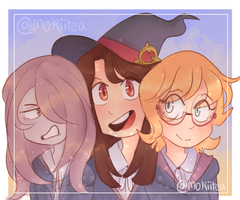 Three Little Witches by TheEmeraldCat131