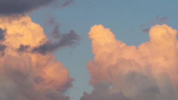 clouds at sunset  by Ad4e