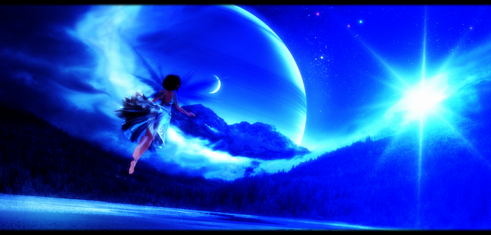 MMD moon fairy by Angel-of-Death-7