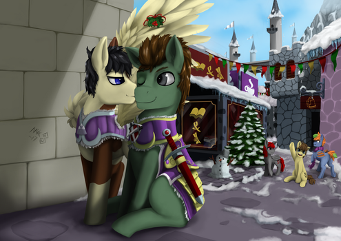 commission - under the holly by Mik3TheStrange