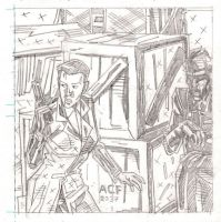 Panel from 'The Frightener' 6 by The-Real-NComics