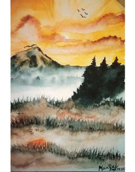 Mountains by Maarel