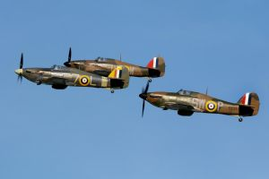 Hurricane Trio by Daniel-Wales-Images
