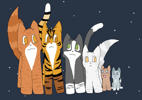 Starclan Waterclan by Soul-of-Sin