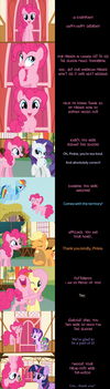 Pinkie Pie Says Goodnight: Thank You by MLP-Silver-Quill