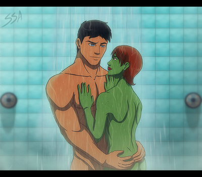 YJI - Shower Time by SabraeTrash