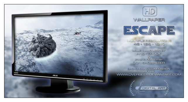 'Escape' WALLPAPER by overseer