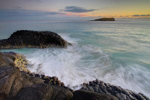 Fingal Head by ooshling
