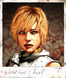 What Have I Done: SilentHill 3 by JayAxer