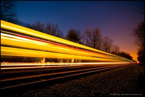 Speed of Light by thinkingupwards