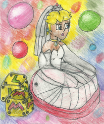 Inflatable Wedding Peach Chair by Yoshiegg603