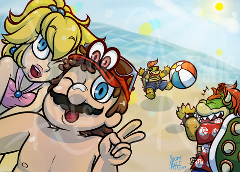 Beach Party! by TheArcaneArts