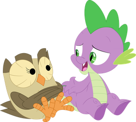 A dragon-to-owl chat by Porygon2z