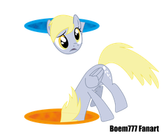 Derpy Hooves and Portal's by boem777