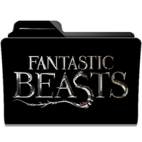 Fantastic Beast Collection Folder Icon by dahlia069