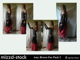 Amy Brown Fae Pack 2 by mizzd-stock
