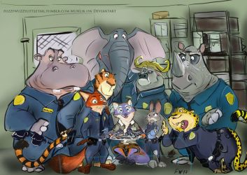COMMISSION IT room at the ZPD by MurLik