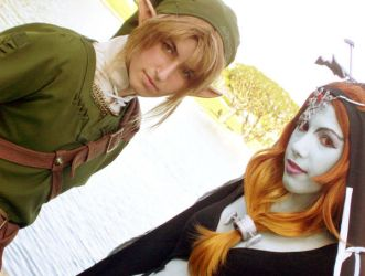 Link and Midna by WitchyElphaba