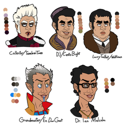 Collector and Grandmaster Lookalikes by stitcheduptogether