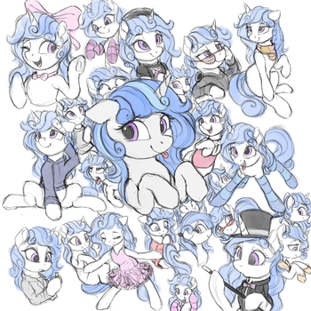 Lots and Lots of Melodias by VanillaGhosties