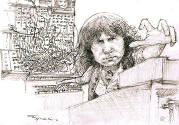 Keith Emerson by FedeBengoa