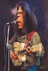 Neil Young by wooden-horse