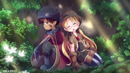 Made in Abyss - Riko and Reg by Inkspirate