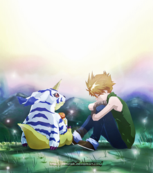 Digimon: Matt and Gabumon by Detoreik