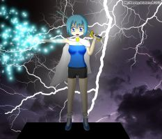 Hero of Justice: Sayaka Caster by ThanyTony