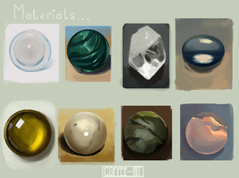 Material Studies by Ilyaev