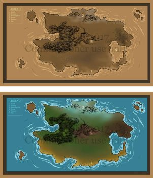 Commission - easy map set by FanOfTill