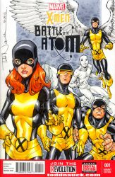 X-Men: Battle of the Atom sketch cover colors by ToddNauck