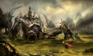 mechanical town by YoBarte