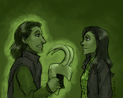Me Loki, You... by ErinPtah