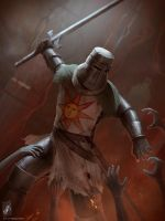 Solaire of Astora by TheMaestroNoob