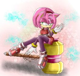 CE: Amy Rose Boom by Tanyhey