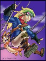 Swingin Jak and Dax - Color by straya