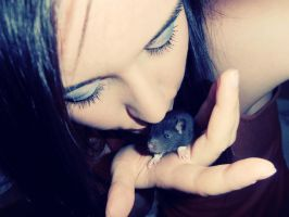 with rat by Nikoleta036
