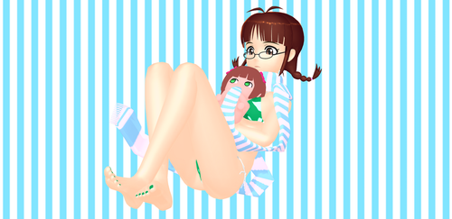 Ricchan and Nono by LaughingVexxo