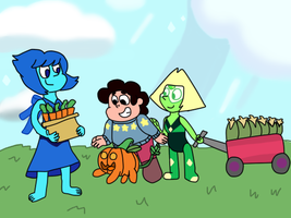 Gems and pumpkins by Dulcechica19