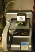 3D Systems Cube printer! It works! by Hypercats