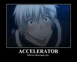 Accelerator Demotivational by gubongee