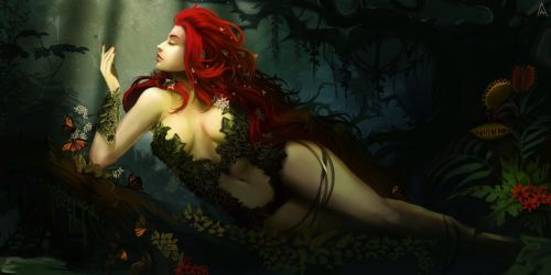 Poison Ivy sunbathing by Arcan-Anzas