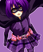 Hit-Girl by betrayal-and-wisdom