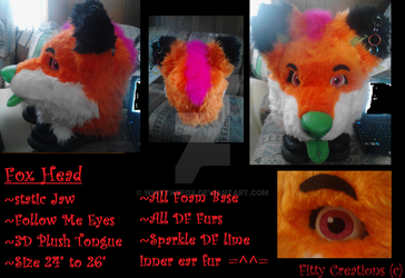 (FOR SALE OR TRADE) by WikkTheFox