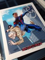 Ultimate Spider-Man by ReyAcevedoArt
