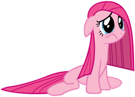 Depressed Pinkie Pie by AtomicGreymon